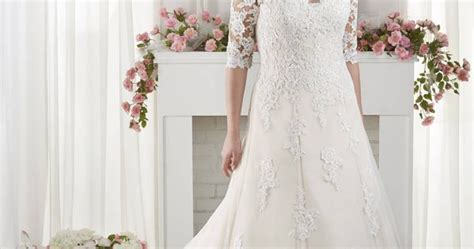 The Best Wedding Dresses for Fat Arms!   Sleeved wedding