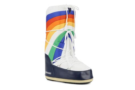 moon boot rainbow sport shoes in multicolor at sarenza co