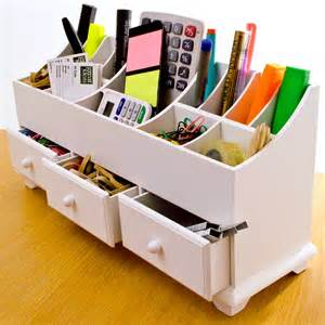 wooden desk tidy caddy with three drawers 13 organiser