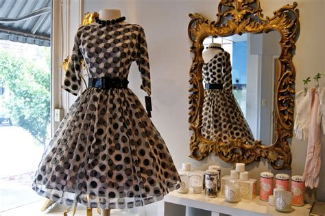xtabay vintage clothing boutique portland oregon polka