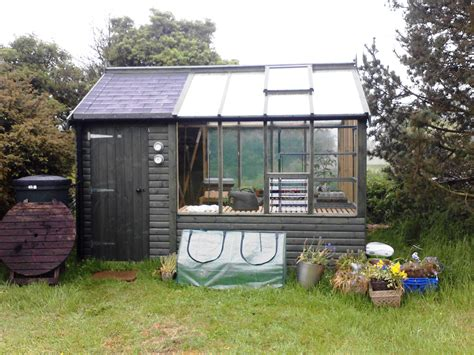 Storage Shed Greenhouse by Morton Garden Buildings Ltd Cumbria Gazebos Garden
