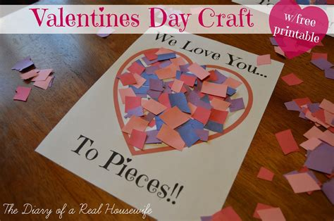 i you to pieces s day card template you to pieces valentines day craft free printable