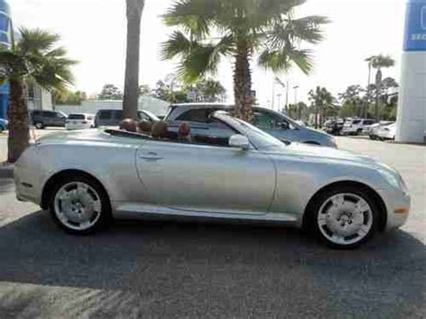 lexus convertible 4 door buy used 2003 lexus sc430 base convertible 2 door 4 3l in