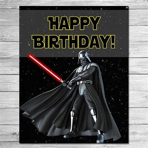 imagenes happy birthday star wars star wars happy birthday sign darth vadar star wars birthday