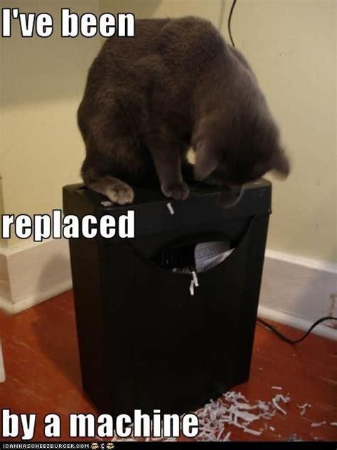 Shredding Meme - replaced by a machine pix pinterest