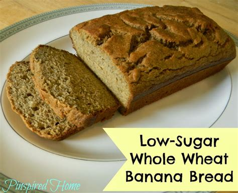 Is Wheat Bread Okay For Sugar Detox by Pinspired Home Low Sugar Whole Wheat Banana Bread
