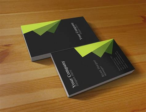 business card preview template modern business card information