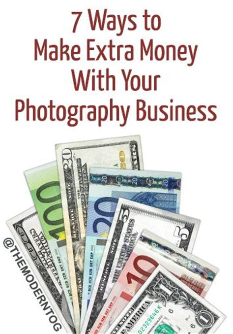ways to make money with your creative business 7 ways to make money with your photography business via the modern tog photography