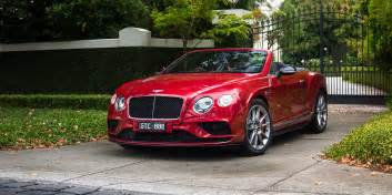 Convertible Bentley Price 2016 Bentley Continental Gt Convertible V8 S Review