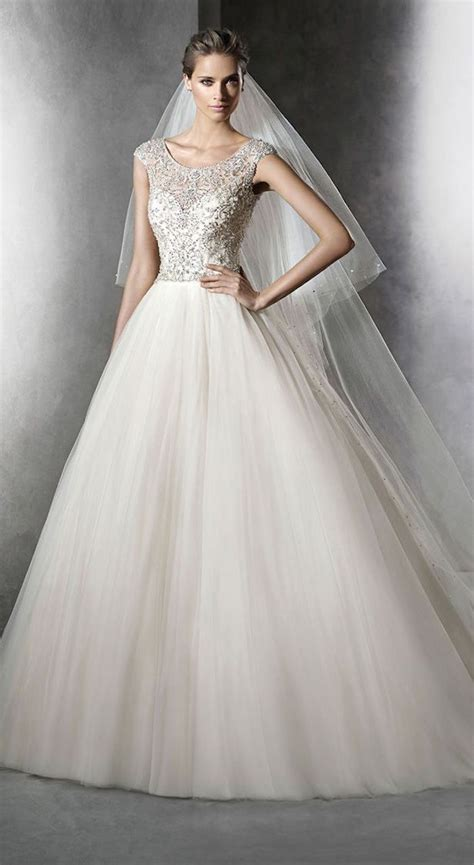 Modest Wedding Dresses with Pretty Details   MODwedding