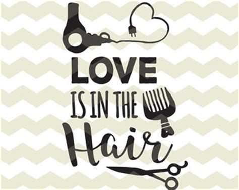 Hairstyle Tools Designs For Silhouette Cameo by Hair Silhouette Etsy