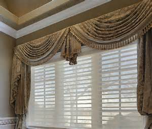 Board Mounted Window Valances Custom Made Traditional Swag Valance Made To Measure Your