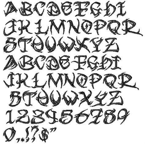 tribal font tattoo generator designs styles embroidery fonts tribal font 1