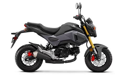detailed 2017 honda grom 125 review of specs changes