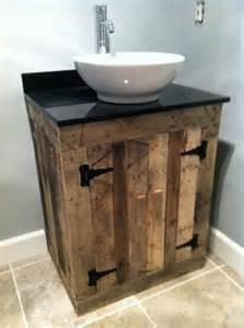 pin by maribel manfredo on repurposed pallets crates - Pallet Bathroom Vanity