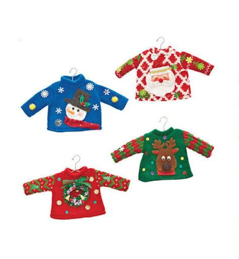 ugly sweater christmas ornaments happy holidayware