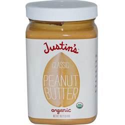 Butter L Justin S Nut Butter Organic Classic Peanut Butter 16 Oz