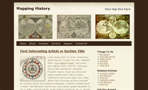 history templates for blogger free html5 css3 html5 template mapping history