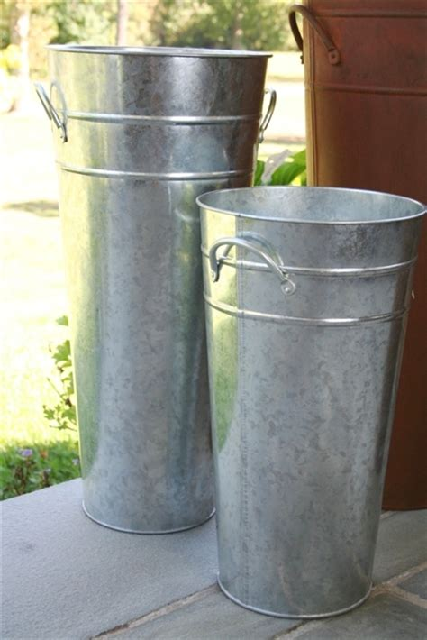 Galvanized Vase by Diy Shipping To Galvanized Vase The Hamby Home