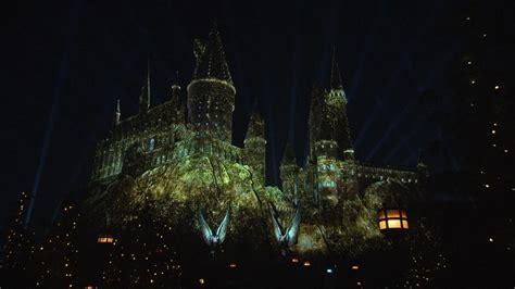 nighttime lights at hogwarts nighttime lights at hogwarts castle cnn