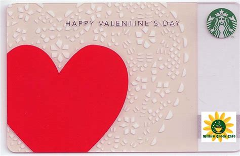 Valentines Day Gift Cards - starbucks gift card valentine collage heart 2013