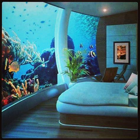 Undersea Bedroom by Underwater Bedroom At Poseidon Undersea Resort B