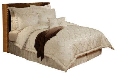mediterranean comforter sets austin horn en vogue glamour pearl spa 4 piece california