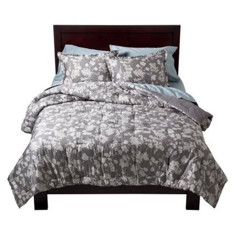 Gray Floral Bedding by Gray Bedding Floral Home Sweet Home