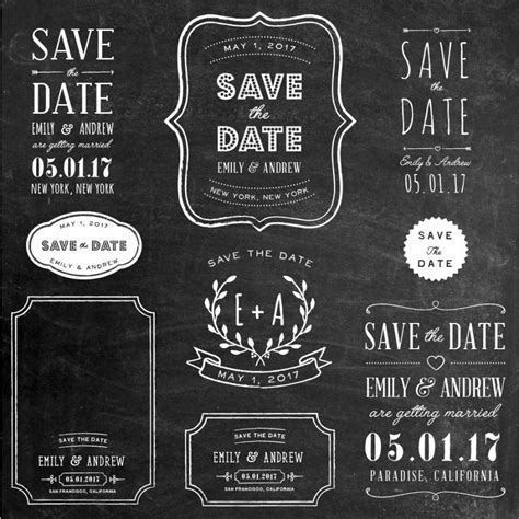 Wedding Overlay Clipart photoshop clipart overlay save the date wedding
