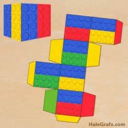free lego templates free printable lego brick treat box