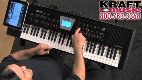 Keyboard Roland Bk 3 Terbaru kraft roland bk 3 backing keyboard demo with ed diaz
