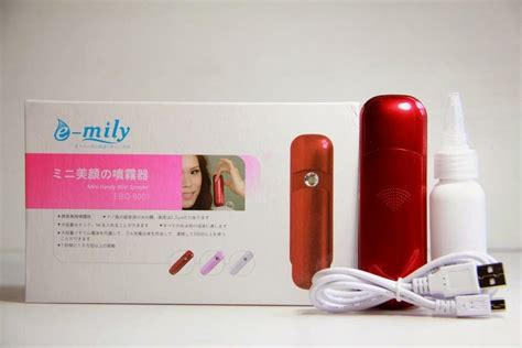 Baterai Nano Spray 3 nano mist emily rechargable