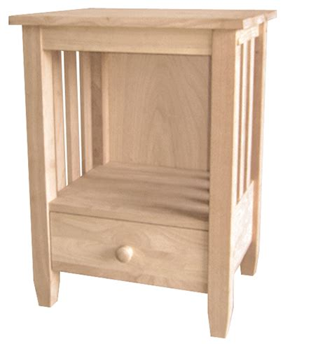 tall accent table with drawer mission collection tall end table with drawer