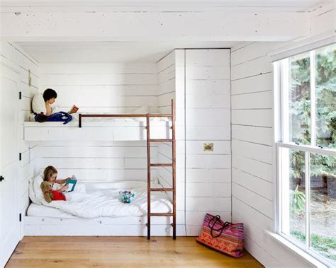 10 Built in Bunk Bed Kids Rooms   Country Home Design Ideas