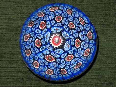 How To Make A Glass Paper Weight - file millefiori2 jpg