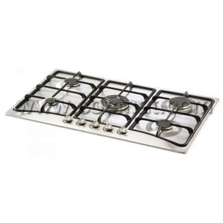 plaque cuisson 5 feux gaz plaque de cuisson elleti 5 feux 70cm inox