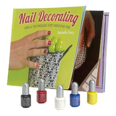 Fingernail Decorating Kits by Nail Decorating Book Kit Tree Shops Andthat