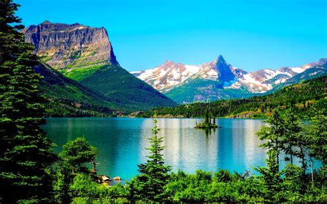 desk top wallpaper glacier national park desktop background 576217