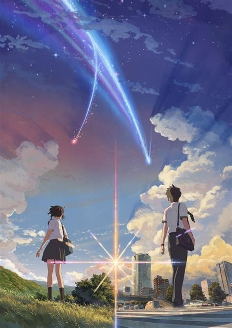 review dan sinopsis anime kimi no na wa 2016