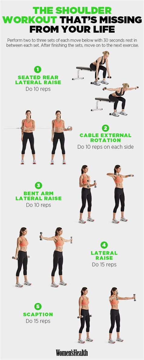 Shoulder Workout At Home by 25 Best Ideas About Shoulder Workout On