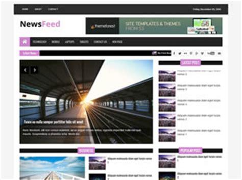 Newsfeed Free Website Template Free Css Templates Free Css Html Template For News Website