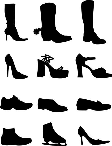 Sepatu Adidas Vektor 女性用の靴 ブーツ サンダル ハイヒール スニーカー スケート 無料ベクターシルエット素材 all free clipart