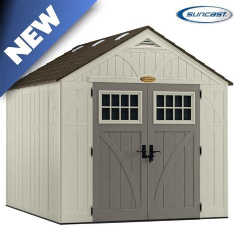 8x10 Steel Shed by Suncast Bms8100 Tremont 3 Shed 8x10