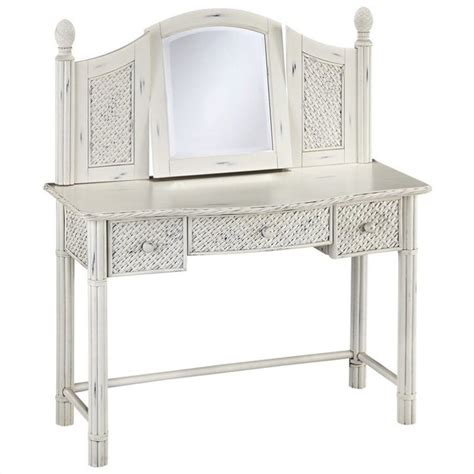 White Bedroom Vanity Ebay Home Styles Marco Island Vanity And Mirror Bedroom