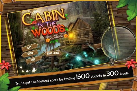 cabin in woods hidden object android apps on google play hidden object games free new cabin in the woods android