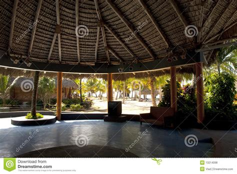 Palapa Roof Palapa Dome Roof Royalty Free Stock Photos Image 13214098