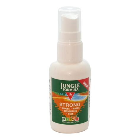 jungle formula spray strong 60ml insect repellant