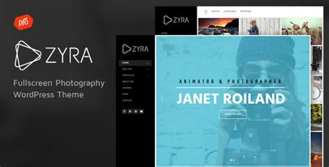 themeforest zyra zyra fullscreen photography theme by progressionstudios