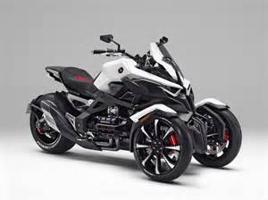 Honda Spider Honda Neowing Concept Marries The Piaggio Mp3 To The Can