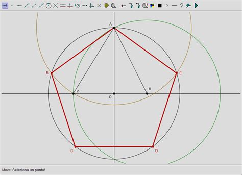 angoli interni di un pentagono occhio al numero 遉 la sezione aurea